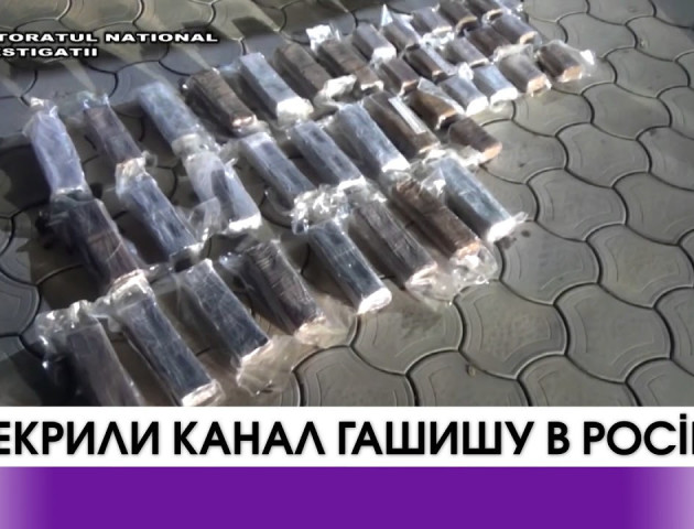 Українські та молдовські прикордонники перекрили канал гашишу з Іспанії в Росію. ВІДЕО