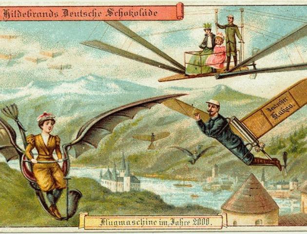 Листівки з минулого: як люди уявляли сьогодення 100 років тому