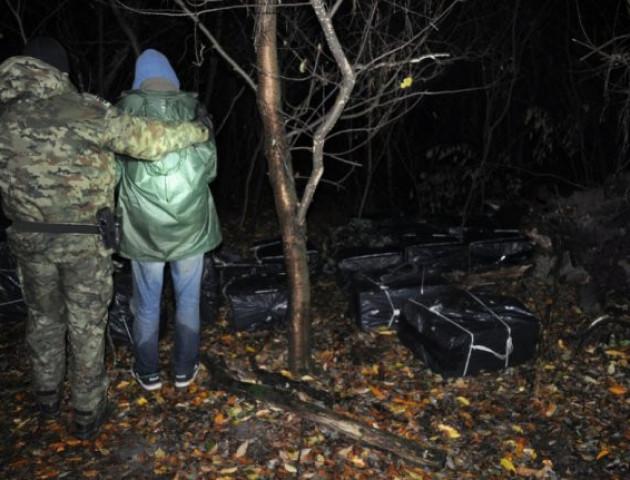 Польські прикордонники затримали велику партію контрабандних цигарок