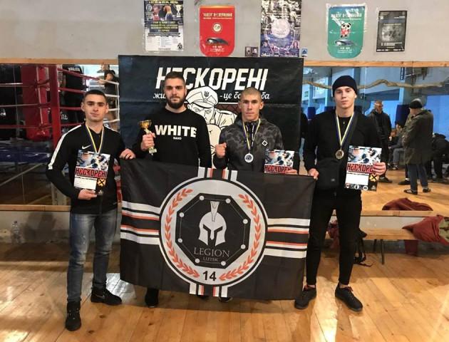 Бійці луцького клубу «Легіон» здобули перемогу у турнірі з ММА «Нескорені-10»