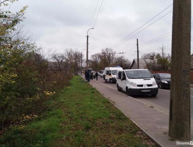 У Луцьку вантажівка переїхала велосипедиста