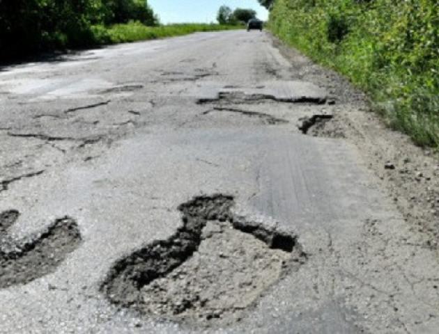 ТОП-5 райцентрів Волині з найгіршими дорогами