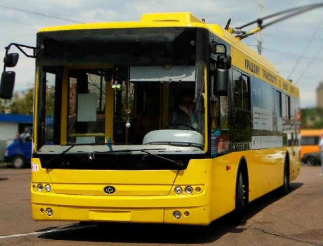 Луцькі тролейбуси поїхали до Херсону