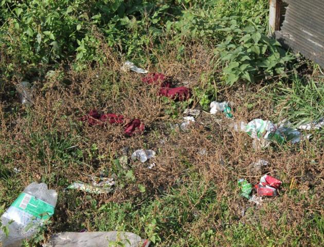 Волинське село потопає у смітті та використаних підгузках
