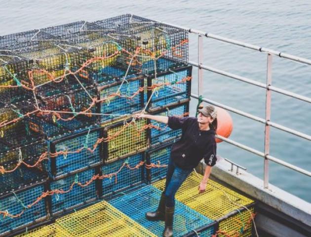 Рибалки зловили лобстера із зображенням Pepsi на клешні. ФОТО