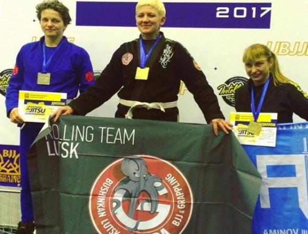 Лучанка - чемпіонка України з бразильського джиу-джитсу