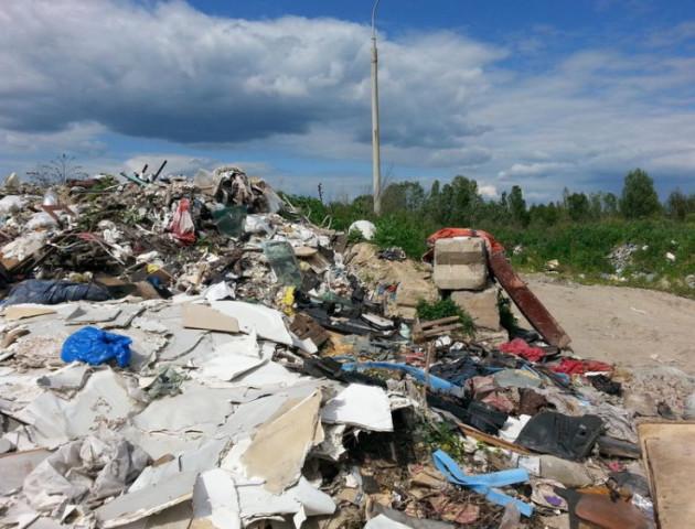 У Володимирі на смітнику знайшли арсенал зброї