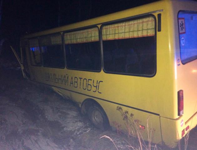 На Житомирщині BMW влетів у шкільний автобус: один загиблий, 5 травмовані
