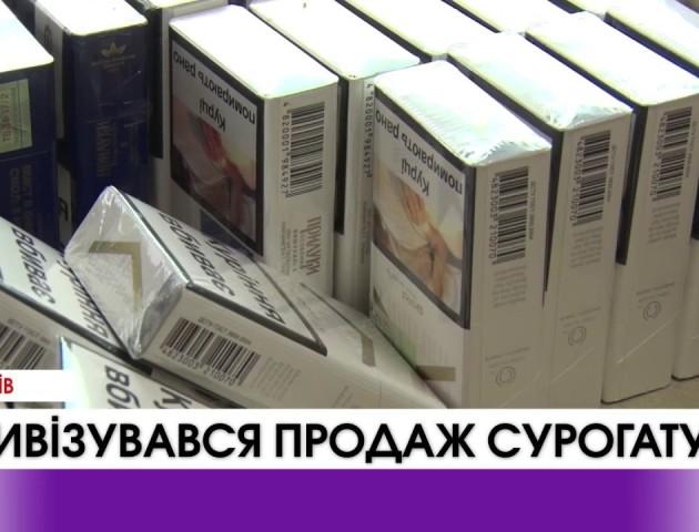 Перед новорічними святами на Волині активізувався продаж контрафактих товарів. ВІДЕО