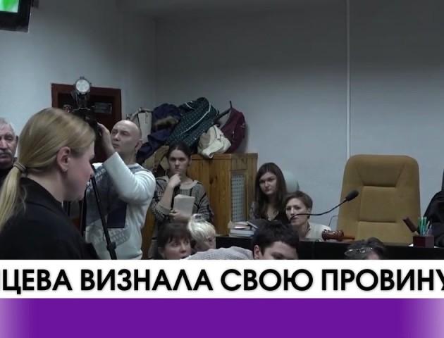 Підозрювана у смертельному ДТП Олена Зайцева визнала свою провину. ВІДЕО