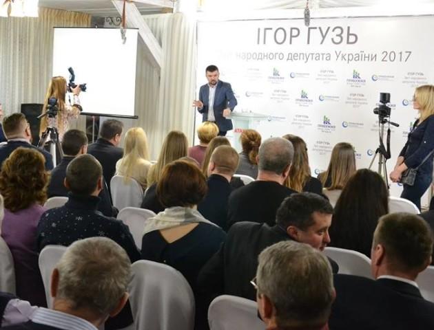 Ігор Гузь цього року залучив на розвиток округу майже 27 мільйонів гривень