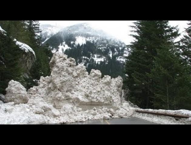 Синоптики попереджають про загрозу можливих лавин у Карпатах. ВІДЕО