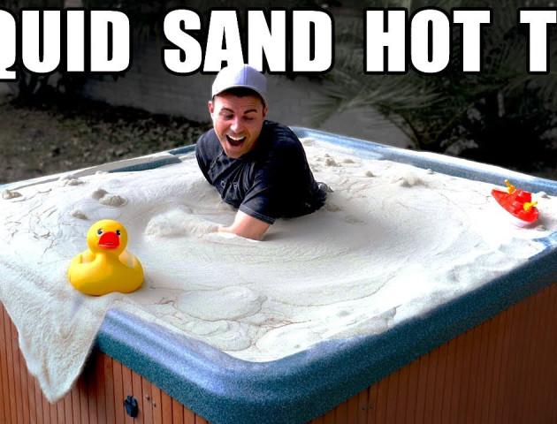 Екс-інженер NASA перетворив пісок у «рідкий суп». ВІДЕО