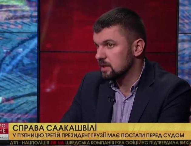 Можлива депортація Саакашвілі – стратегічна помилка Порошенка, - Ігор Гузь