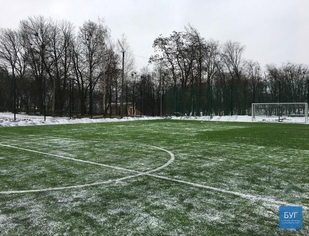 У Нововолинську відкрили новий спортивний майданчик. ФОТО