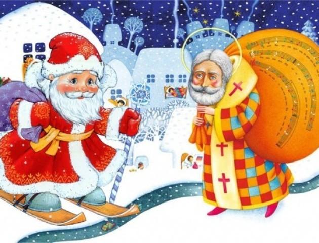Дід Мороз чи святий Миколай: кого більше люблять лучани? ВІДЕО