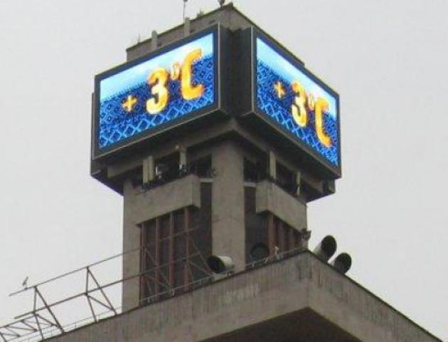 На центральній площі Володимира хочуть встановити широкоформатний електронний годинник