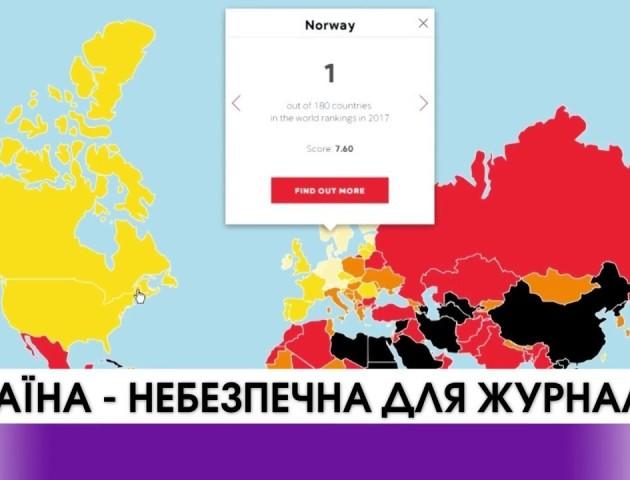 Україна небезпечна для преси. ВІДЕО