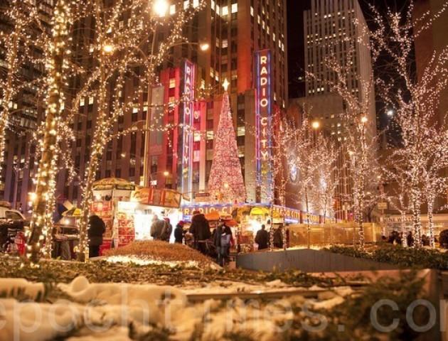Що чекати від «Американського Різдва» у Нью-Йорку. ВІДЕО