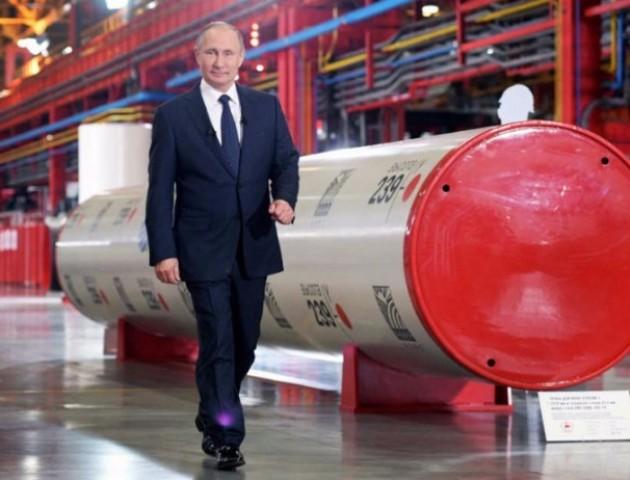 """У Нафтогазі назвали """"Північний потік-2"""" військовим проектом Путіна"""