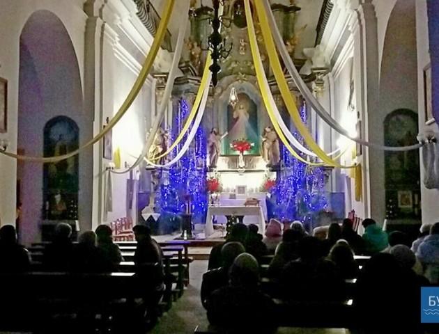 Волинські католики відсвяткували Різдво Христове. ФОТО