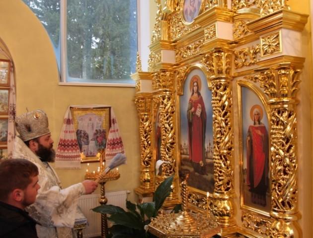 У селі під Луцьком освятили ікону Варвари з частинкою мощей. ФОТО. ВІДЕО