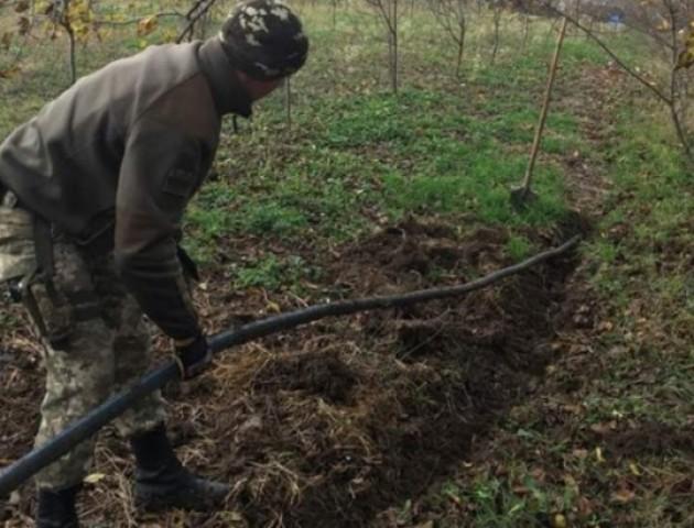 Незаконні спиртові трубопроводи на кордоні України. ВІДЕО
