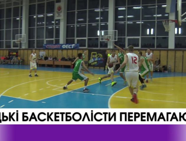 Луцькі баскетболісти лідирують у першій лізі. ВІДЕО