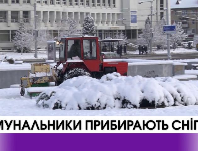 Волинські комунальники зими не бояться. ВІДЕО
