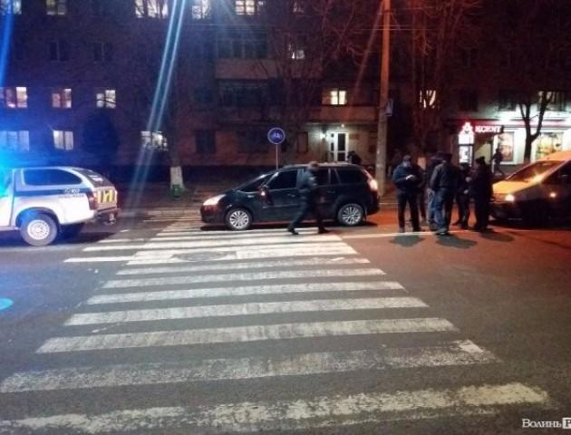 У Луцьку - аварія на переході. Фото