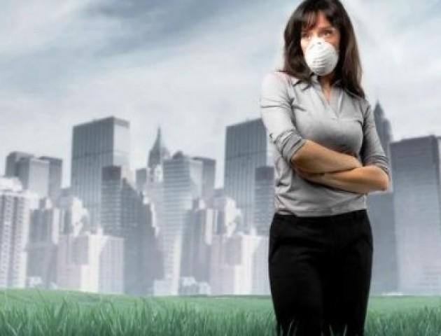 Луцьке повітря – у рейтингу найбрудніших в Україні
