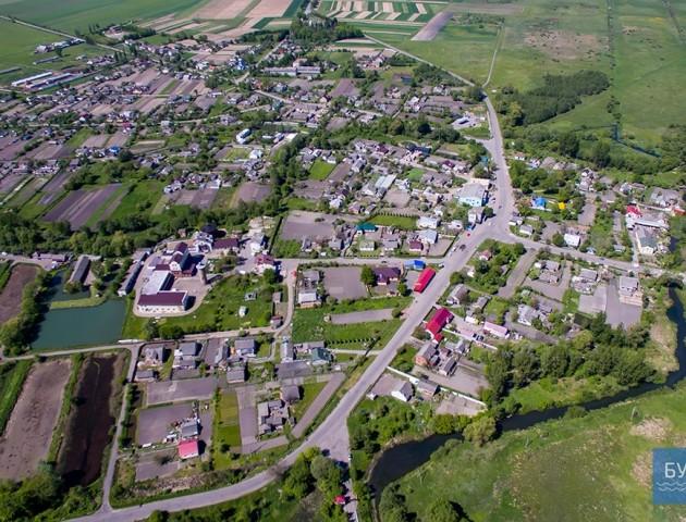 Волинське село зняли з висоти пташиного польоту