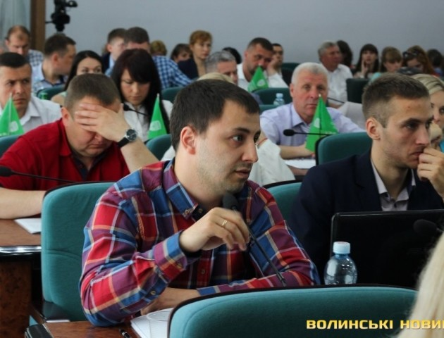 У Луцькраді проголосував депутат, якого не було
