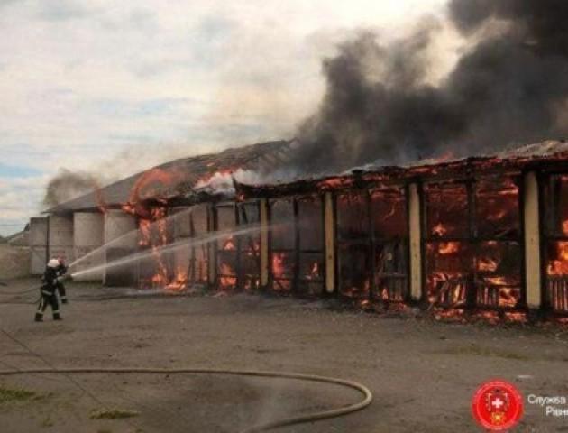 Друга пожежа за день: у Луцьку горить гараж
