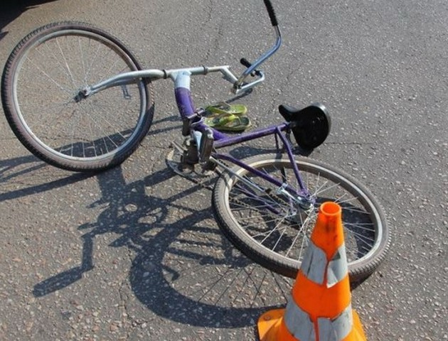 На Волині у ДТП постраждав 84-річний велосипедист