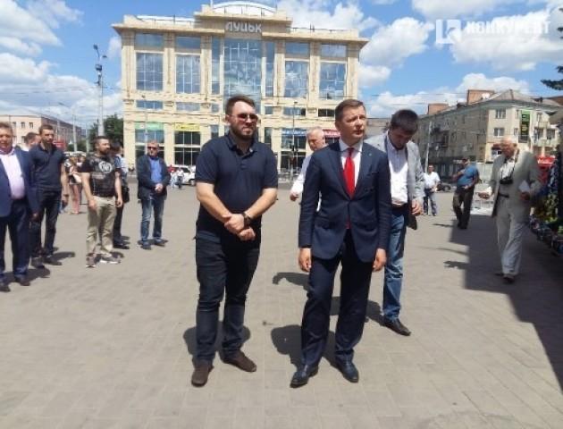 Що робив нардеп Олег Ляшко в Луцьку