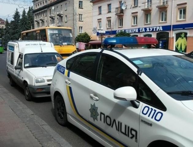 У Луцьку водій поскандалив з патрульними