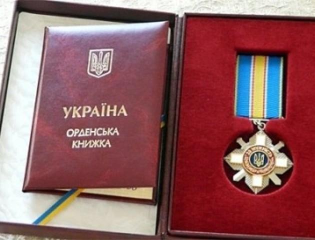 Президент посмертно відзначив орденом луцького Героя