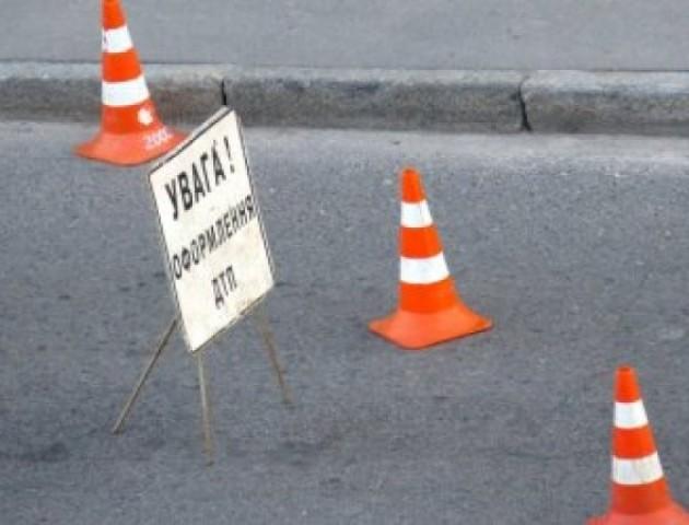 Аварія в Луцьку: автівка втекла з місця події