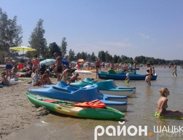 ТОП-5 найкращих пляжів Шацького району