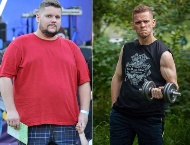 Лучанин розповів, як за 8 місяців схуд на 50 кілограм