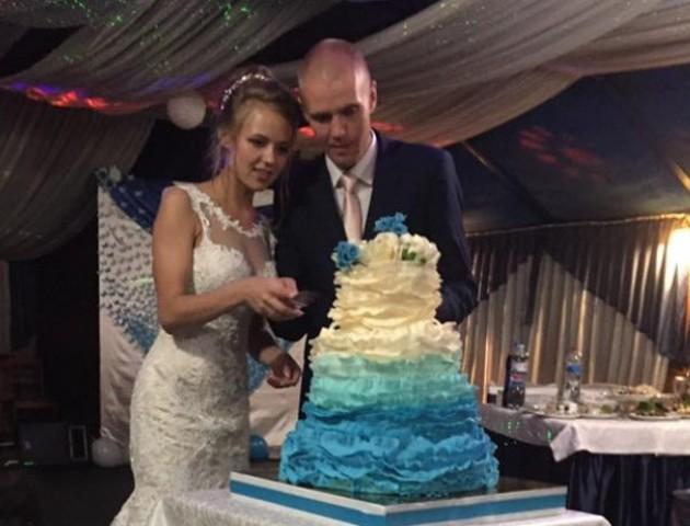 Волинський герой зіграв весілля у свій день народження