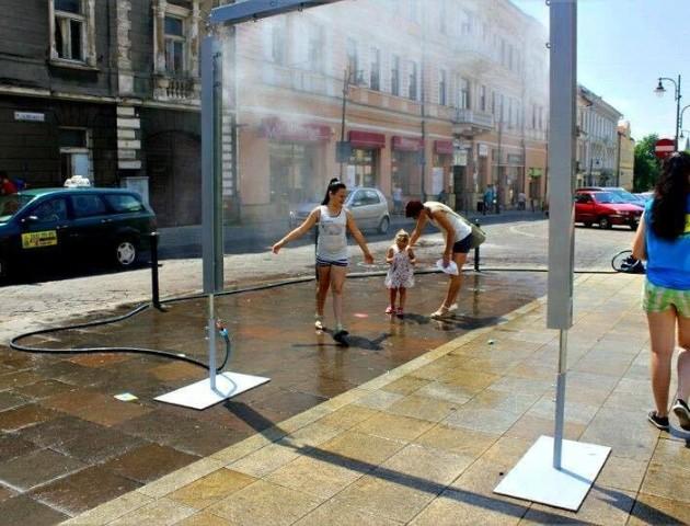 На вулицях Луцька можуть з'явитися водяні завіси