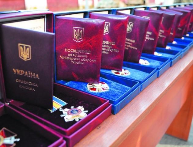 Нагородами Міністерства оборони відзначили трьох волинян