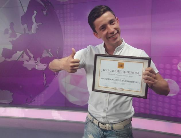 Волинський журналіст отримав гран-прі від телеканалу 1+1