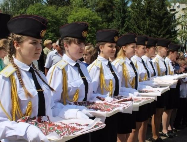 У Волинському військовому ліцеї «випустили» майбутніх захисників України