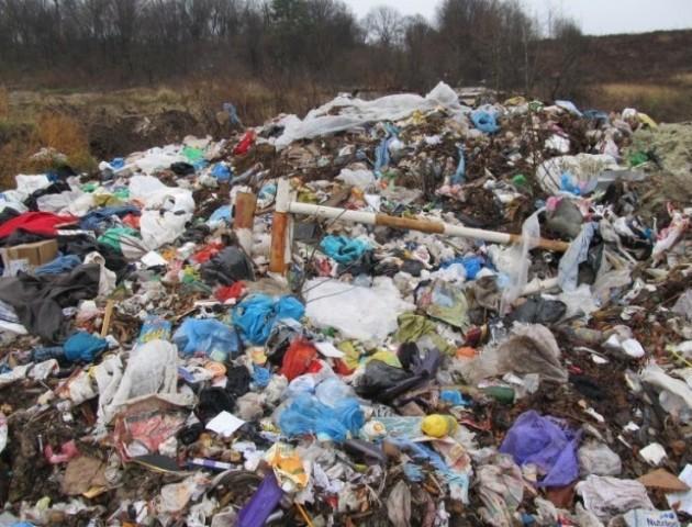 Потужностей сміттєвого полігону у Брищі вистачить лише до кінця цього року