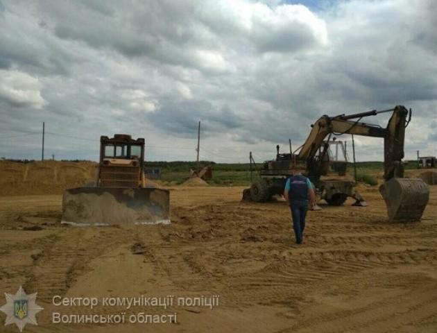 На Волині посадовці незаконно навидобували піску на п'ять мільйонів гривень