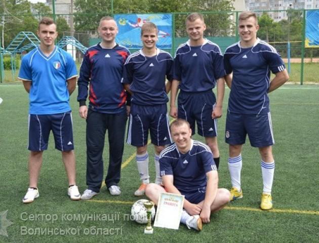 У Луцьку провели фінал турніру із міні-футболу серед волинських поліцейських (ФОТО)