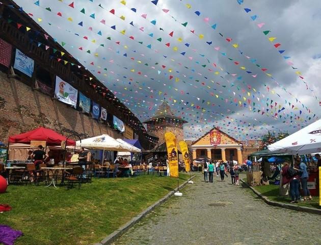 Чим пригощають на Lutsk Food Fest Італійський дворик. ВІДЕОРЕПОРТАЖ